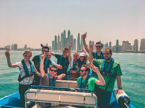 Splash Tour Dubai Marina