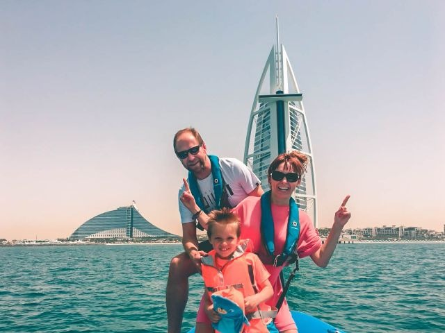 Speedboat Tour Burj Al Arab
