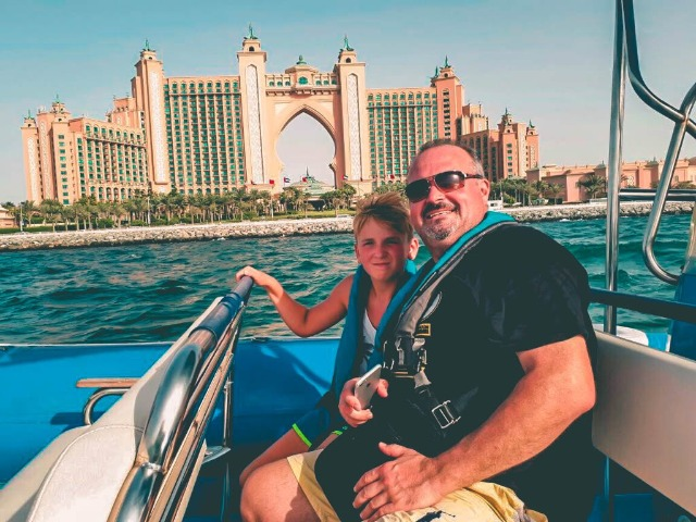 Speedboat Tour Atlantis